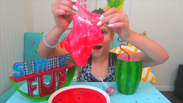 WATERMELON SLIME without Borax