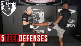 5 Ways to Defend Against the Teep - Front Push Kick