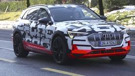 Audi e-tron prototype Driving in Geneva
