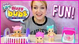 Little Live Bizzy Bubs Babies Meet Little Live Pets Chicks Doll Review