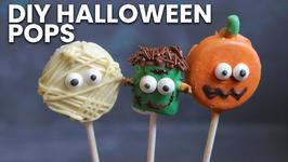 DIY Halloween Pops