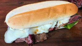 Smoked Tri Tip Sandwich
