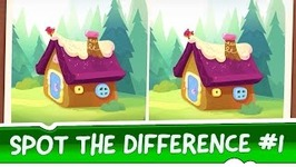 Spot the Difference Ep 1 - Om Nom Stories - Mysterious House