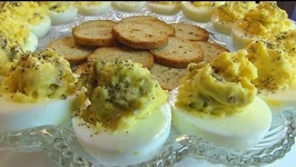 Bacon-Horseradish Deviled Eggs - Easter