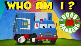 Road Rangers - Frank Who Am I - Kids Show - Children Cartoon - Preschool Shows