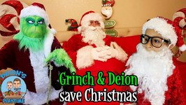 THE GRINCH & DEION SAVE CHRISTMAS - DEION'S PLAYTIME