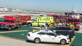 Aeromexico Plane Collides With Truck at Los Angeles Airport