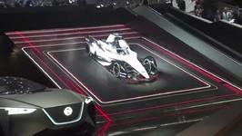 Nissan at Geneva 2018 Formula E Reveal - Jose Munoz