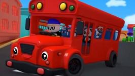 Wheels On The Bus - Baby Bao Panda - Nursery Rhymes For Kids
