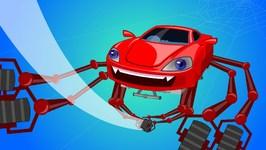 Incy Wincy Spider - Car Rhyme - Nursery Rhyme For Kids