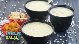Sabudana Kheer Indian Dessert For Fasting