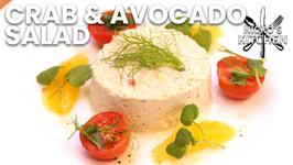 Crab And Avocado Salad / Low Carb Recipe