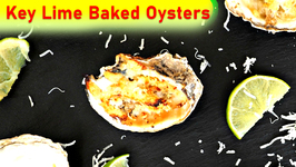Appetizer Recipe: Key Lime Baked Oysters