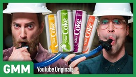 New Diet Coke Flavor Taste Test - STUFF WE TRY THAT YOU CAN'T BUY