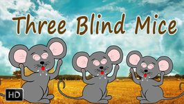 Three Blind Mice With Lyrics - Kids Songs - Popular Rhymes