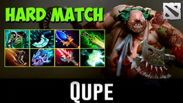 Qupe Pudge Hard Match Dota 2