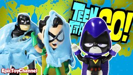 Teen Titans Go Parody Teen Titans Get Slimed And Became Babies  Robin Batman