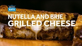 Nutella and Brie Grilled Cheese
