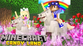 Minecraft-Little Carly-UNICORN CANDYLAND w/Baby Leah!!