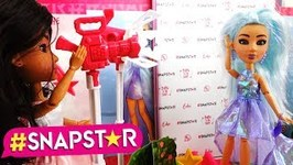 New Snapstar Dolls - Vita's Clothing Rack and Echo's Debut on the Pink Carpet