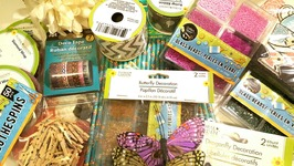 DOLLAR TREE HAUL 12  CRAFTY ITEMS