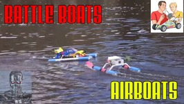 How to make DIY Airboats - Battle Boats