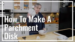 How To Make A Parchment Paper Disk