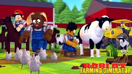 ROBLOX FARMING SIMULATOR - THE LITTLE CLUB H.Q TURNS INTO A FARM 7 EVERYONE BECOMES A FARMER
