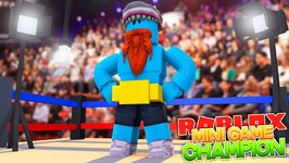 I AM THE MINI GAME CHAMPION !!! Sharky Gaming - Roblox