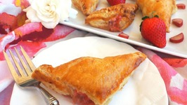 Breakfast Recipe-Strawberry Rhubarb Turnovers