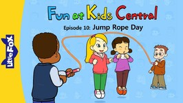 Fun at Kids Central 10 - Jump Rope Day - School - Animated Stories for Kids