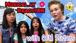 Gem Sisters Musically And Casey Simpson Musically Compilation - Gem Sisters Reaction