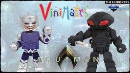 Diamond Select Toys Aquaman DCEU Ocean Master & Black Manta Vinimates