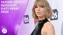 Taylor Swift releases music the same day as Katy Perry