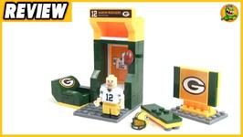 NFL Green Bay Packers Aaron Rogers - Locker Room Set Review