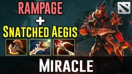 Miracle RAMPAGE EMBER RAPIER Dota 2