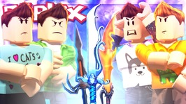 Roblox Adventures - 4X GODLY KNIFE BET CHALLENGE! - Murder Mystery 2