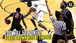 Lou Williams Scores 50 Points While Shiftin Dudes And Rainin' 3s And Breaks Drew League Record