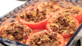Turkey-Stuffed Tomatoes - Rule Of Yum Recipe