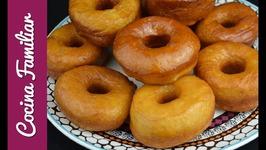 Como hacer donuts caseros con cardamomo - Receta de donas