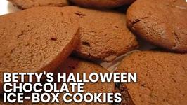 Betty's Halloween Chocolate Ice-Box Cookies