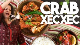 Crab XEC XEC (Shek Shek) - Authentic Goan Curry