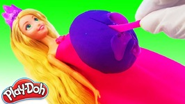 Disney Princess Rapunzel Baby Play-Doh Surprise Toys Learn Colors Nursery Rhyme Song