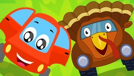 Little Red Car - Turkey Song - Thanksgiving Song