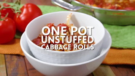 One Pot Unstuffed Cabbage Rolls