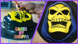 Epic Skeletor Cake - He-Man (How To)