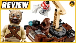 Tatooine Battle Pack Review - 2018 Lego Star Wars - 75198