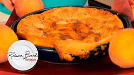 Peach Cobbler - Easy Classic Peach Cobbler Recipe Video