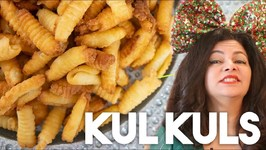 Kul Kuls - Crispy Fried Holiday Cookie