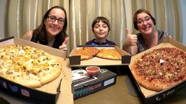Best Pizza And Cheese Bread Feast / Gay Family Mukbang - Eating Show